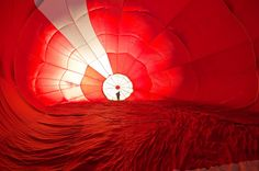 Inside of Hot Air Balloon by B [R]asulev, via 500px