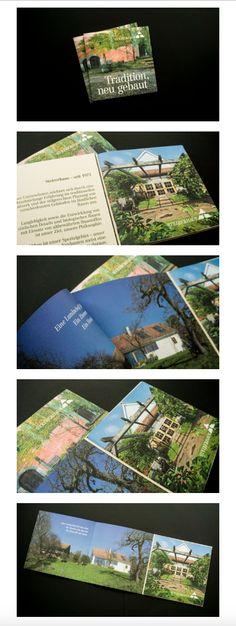 gestaltung und layout eines imagefolders für steirerhaus –teubl und teubl Editorial Design, Polaroid Film, Layout, Cover, Rural Area, House, Page Layout, Blankets, Editorial Layout