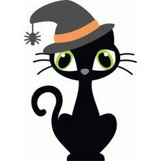 Silhouette Design Store: halloween kitty