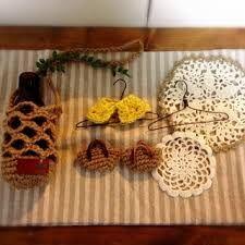 「麻ひも かぎ編み」の画像検索結果