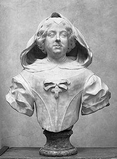 Giovan Battista Foggini | Busto di Vittoria della Rovere (marmo)