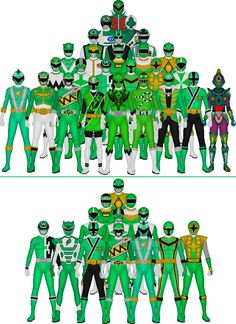 **2/8/16 with Midoninger! Geez, the greens have added three suits to their ranks in less than a year!** Onto the fourth color in the Super Sentai franchise. Up top, Super Sentai: Mido Ranger ...
