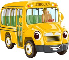 Image with transparent background, Cartoon Yellow School Bus photo without background its from Mockup and Transportation category, png file easily with one click Free HD PNG images, png design with high quality.