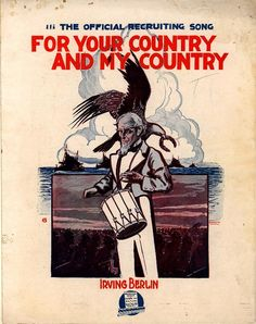 For you country and my country. From Duke Digital Collections. Collection: Historic American Sheet Music. Plate no.:  703-4.