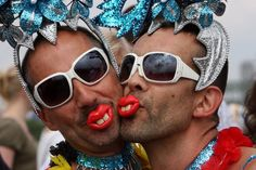 Another stereotype of the Netherlands is that half of the population is gay. Just because gay marriage is legal doesn't mean everyone is gay.