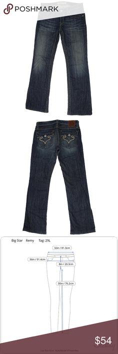 2ec8124f52a Big Star Remy Bootcut Low Rise Jeans Big Star Remy Women's Low Rise Bootcut Jeans  Size