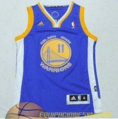 Camisetas nba niño Klay Thompson  11 Golden State Warriors azul €19.99 5d80171782e