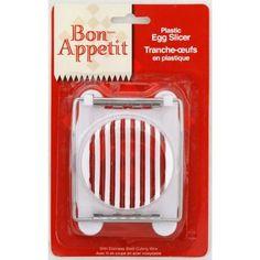 Bon-Appetit Plastic Egg Slicer