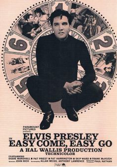 ELVIS MONTH Day 23 Easy Come, Easy Go (1967) | Ruby Canoe