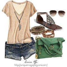 like this simple summer shirt