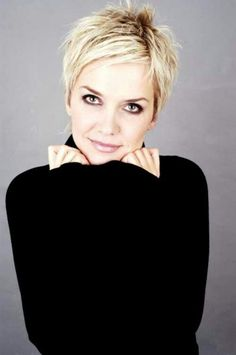 View 11 of 20 photo about pixie cut - gallery of most popular short pixie haircut for women for favorite short blonde pixie ha. View complete photo of 20 pixie haircuts ideas here. Short Blonde Pixie, Short Pixie Haircuts, Cute Hairstyles For Short Hair, My Hairstyle, Hairstyles Haircuts, Short Hair Styles, Short Hair Cuts For Women Edgy, Curly Haircuts, Trendy Hairstyles