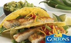 Gluten Free Grilled Tilapia Tacos from Gorton's� Recipe by GORTONS_RECIPES via @SparkPeople