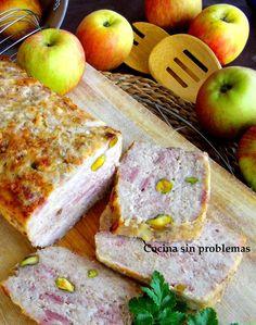 Cocina Sin Problemas: Terrina de pollo con pistachos.