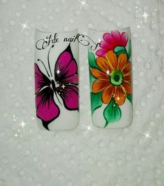 Nail Technician, Eyeliner, Wine Glass, Butterfly, Nail Art, Nails, Pretty Toe Nails, Cute Nails, Nail Manicure