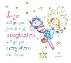 Imagination will get you everywhere!