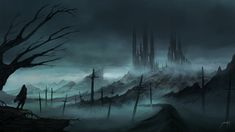 Dark Mist by JJcanvas