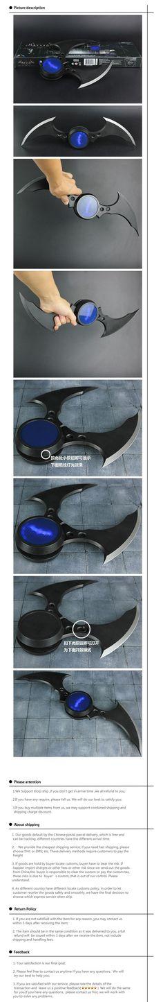 DC Comics Justice League America Anime Batman Bat Barts Batarang Replica Cosplay Props 1/1 Action Figure Toys PVC Model 0380