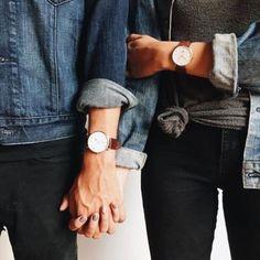 女性でもメンズサイズと同じビッグフェイスの時計を身につける人急増中!上品なレザーベルトからトライしてみて