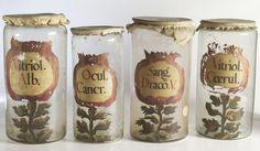 apothecary jars, circa 1700