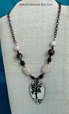Leafy Tree Necklace (Customer Design) - Lima Beads