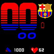 Football Club Barcelona, with steps and pulsation. retouched by hand shield and battery. the bluetooth icon is only visible when connected. Watch Faces, Bluetooth, Barcelona, Football, Club, Watches, Soccer, Wristwatches, Barcelona Spain