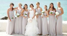 Dessy Bridesmaid Collection in Taupe