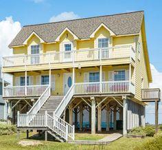 tour a few of our favorite colorful galveston vacation rentals rh pinterest com