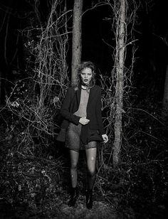 Vogue Italia January 2016 Freja Beha Erichsen by Eter Lindbergh-3