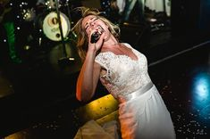 Laura rocking out on the dancefloor! The energy during the party was amazing to capture!  Excited to have just delivered this beautiful emotional fun wedding from a few weeks ago. Laura and Julian you have mail :)