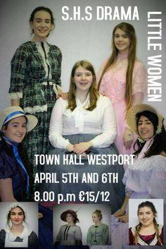 LITTLE WOMEN  S.H.S Drama see poster below for details  #westport - http://ift.tt/1HQJd81