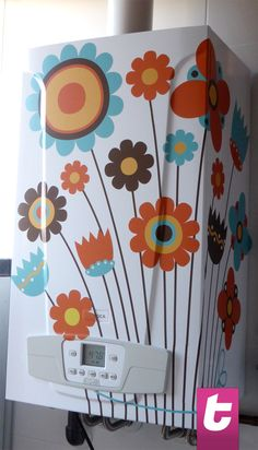 Bring more colour into your house with one of our floral stickers!