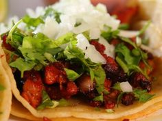Get this all-star, easy-to-follow Al Pastor Marinated Pork recipe from Diners, Drive-Ins and Dives