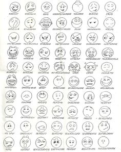 Feelings Chart: Star Wars Faces Kimochis Free printable