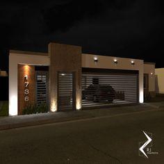 House Gate Design, Car Porch Design, House Front Design, Door Gate Design, Small House Design, Modern House Design, Modern Garage Doors, Modern Exterior Doors, Modern House Facades