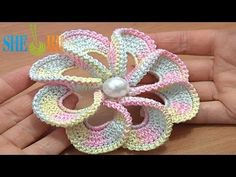 3D Spiral 8-Petal Flower Trim Around Tutrial 56.