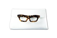 Lucy White  #bag #clutch #eyeglasses #sunglasses