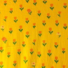 70´s fabric by Anna-Lena Emdén