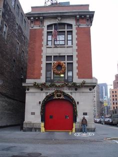 "Though there are numerous locations around the Big Apple where we saw Bill Murray and his ghost-catching compadres, such as the New York Public Library on Fifth Avenue between 40th and 42nd Streets, perhaps the coolest ""Ghostbusters"" hotspot is the working fire station that serves as headquarters for 8 Hook and Ladder, 14 North Moore St., off West Broadway in the Tribeca area. The Ghostbusters badge is even on the sidewalk in front of the firehouse."