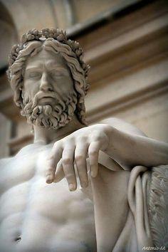 Aristaeus, god of gardens, François-Joseph Bosio, Musee du Louvre