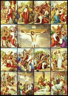 14 Stations of the Cross by Munir Alawi Religious Pictures, Jesus Pictures, Advent Images, Polaroid Picture Frame, Catholic Lent, Jesus Christ Images, Cute Stories, Jesus On The Cross, Faith In Love
