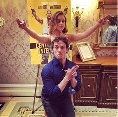 When Emilia Clarke (Louisa Clark) and Sam Claflin (William Traynor) kept the press tour interesting.
