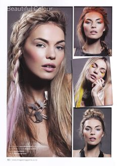 Images magazine with Laura Neumeister, Sheridan Seekamp and Bryony Gamble.