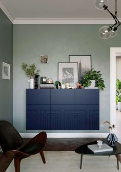 Check out these amazing cabinets in the style Frida in Classy Navy. Compatible with Ikea Besta and Malm products. The cabinet fronts are detailed with repeating sequence patterns from door to door. The link is down below, check it out! Ikea Furniture, Custom Furniture, Furniture Stores, Plywood Furniture, Modern Furniture, Furniture Design, Ikea Storage Cabinets, Ikea Malm Dresser, Hm Home