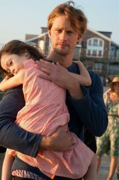 I love how most photos of Alexander holding Onata was just them being them. He didn't really hold her during most of the movie, so all the adorable-ness was genuine affection for each other.