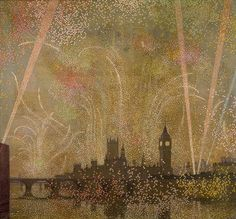 Victory Celebrations - Claude Francis Barry 1919