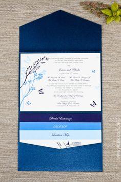 Invitation Idea for Destination Weddings. Include area/wedding information