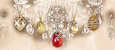 Les Favorites  This exuberant collection of small, exquisitely-formed Fine Jewellery Egg Pendants recreates the abundance, joy and diversity of Peter Carl Fabergé's original egg pendants. With a repertoire of over 60 different designs, reinterpreting iconic Fabergé themes and resonating with echoes of Fabergé's famous skills and artistry.