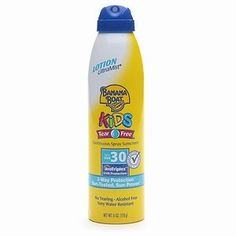 I'm learning all about Banana Boat Kids UltraMist Continuous Spray Sunscreen at @Influenster!