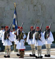 Mykonos, Greek Independence, Places In Greece, Greek Language, Greek History, Greek Culture, Men In Uniform, Style Uniform, Paradise On Earth