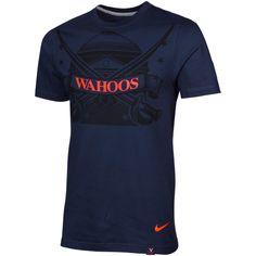 College Nike Virginia Cavaliers Aerographic Premium T-Shirt -
